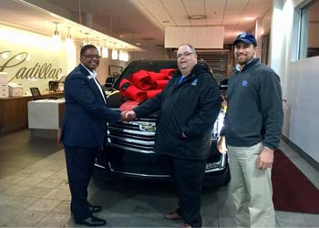 Todd Roberts and Nick Lopez/JACO Limousine & Transportation (Global Partners group members) added new Cadillac Escalade to fleet
