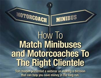 How to Match Minibuses and Motorcoaches to the Right Clientele