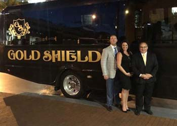 George Doyle, TJ Doyle and Joey Mills - Gold Shield Transportation (The Wheels Group - Spinning Wheels and Going Global members)